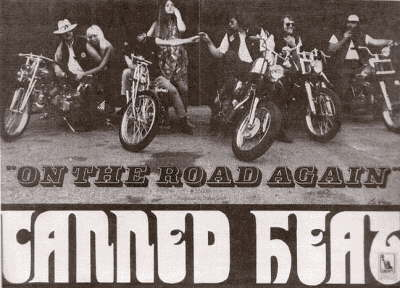 On The Road Again, 1968 Promo Poster